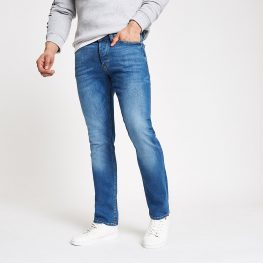 Mid blue Dylan slim fit jeans (Copy)